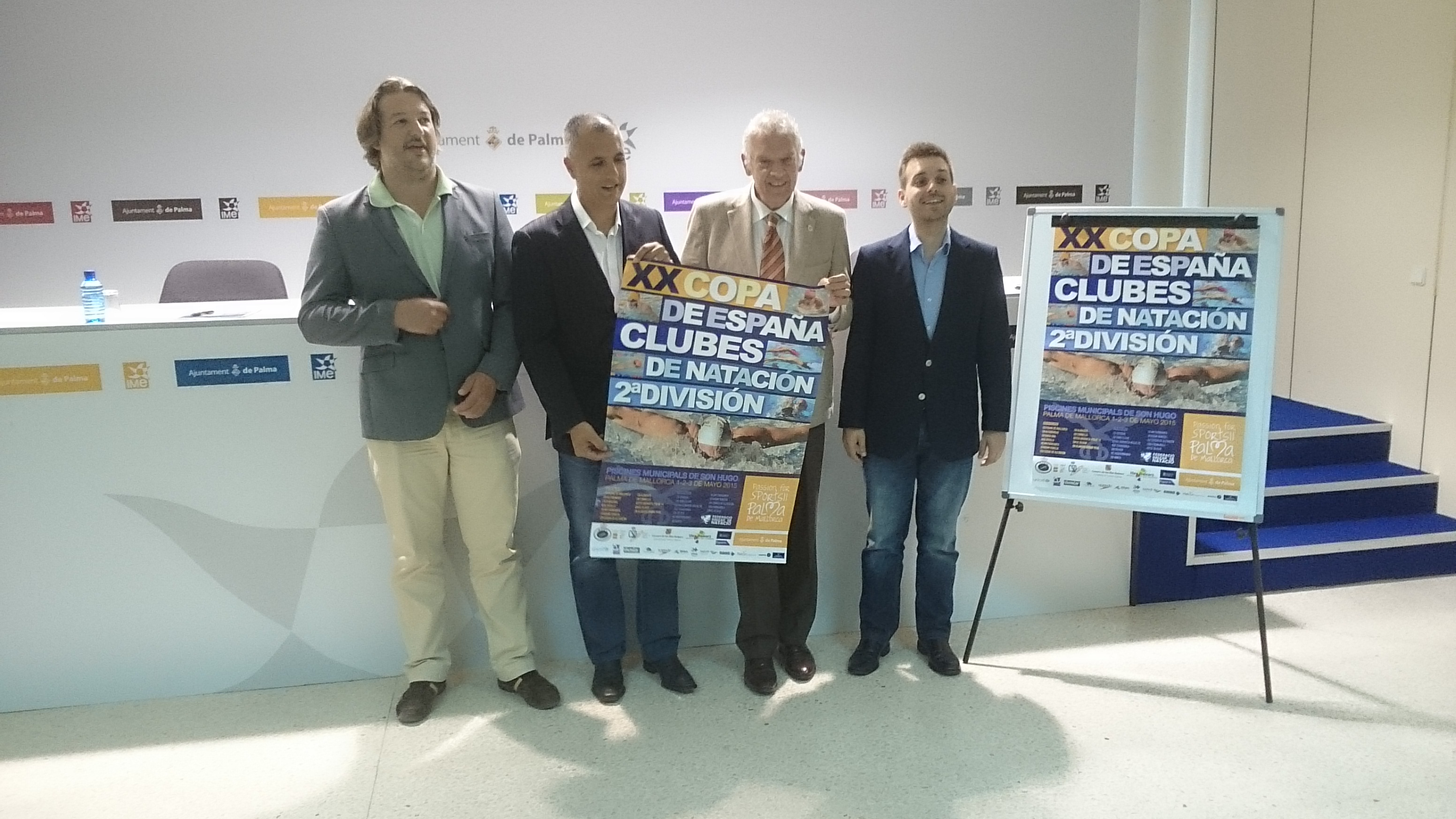 Xx copa espa a de clubs for Piscinas municipales palma