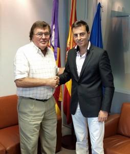 Javier Lorente y Miguel Bestard