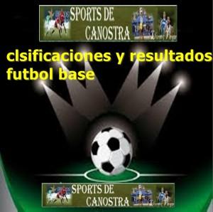 clasificaciones futbol base