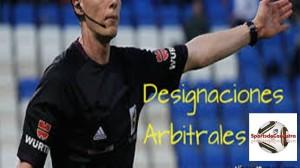 designaciones  arbitrales