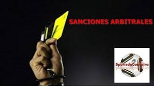sanciones arbitrales