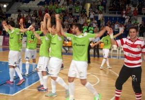 Celebración pase a las semifinales