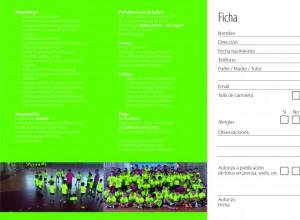 Tríptico del campus del Palma Futsal - Cara 2