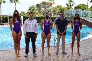 Blanca Gil, José Tirado, Carolina Marqués, Joan Miquel Durán y Marta Cañellas en la presentación del acuerdo en THB Hotels